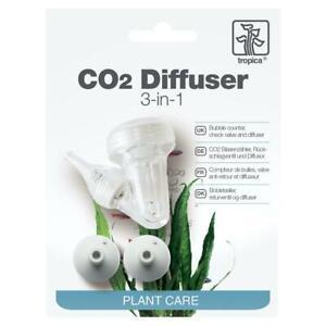 Tropica 3-in-1 CO2 Diffuser - Bubble Counter, Reflux Valve and Ceramic Diffuser