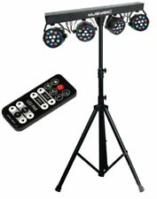 MUSYSIC MU-L31A Complete Professional 4 Pieces Stage LED Lights DJ Band DMX...