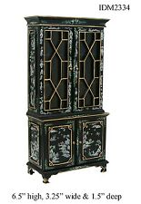 DOLLHOUSE MINIATURES Heirloom Collection Fancy Cabinet 1:12 Scale