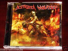 Destroyer / Violated: Outbreak Of Metal Vol. II - Split CD 2009 Slaney 004 NEW