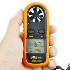 Handheld Digital LCD Wind Speed Meter Thermometer Anemometer Velocity Gauge UP#