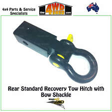 ROADSAFE 4WD Rear Standard Recovery Tow Hitch 5T with Bow Shackle 4.7T RTH001KIT