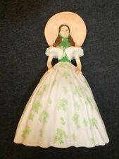 Gone With The Wind Music Box Scarlett Party Dress Figurine Taras Theme