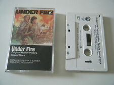 UNDER FIRE SOUNDTRACK CASSETTE TAPE OST JERRY GOLDSMITH PAT METHENY WARNER BROS