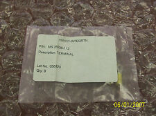 Hwkit Integrtn MS25036-112 New Soldering (Yellow) Insulated Ring Tonge Terminals