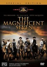 The Magnificent Seven (DVD, Region 4) Steve McQueen - Brand New, Sealed