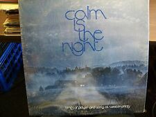 Calm Is The Night-Times Of Prayer And Song At Weston Priory-LP-Vinyl Record-NM