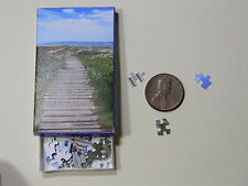 "Mini Jigsaw Puzzle 100 piece 1:12 ""Path"""