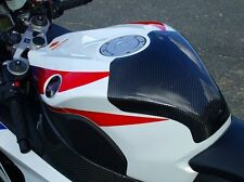 CBR1000RR 2008-2011 TWILL CARBON TANK COVER BY CLEVER WOLF RACING JAPAN!