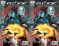 G.I. Joe: Operation Hiss #5 (2010) Limited Series IDW Comics - 2 Comics