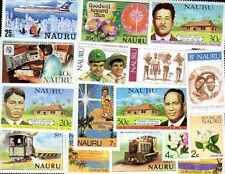 Nauru 100 timbres différents