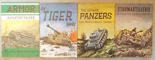4 AERO/ARMOR BOOKS ON GERMAN TANKS Tiger STURMARTILLERIE Panzer SONDERPANZER