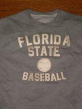 NEW Florida State Seminoles VINTAGE OLD SCHOOL CREWNECK SWEATSHIRT SZ:S