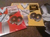 "3X AV8 RECORDS 12"" MINT SEALED!!! WU MUSIC GET ROWDY BRUCK UP DJ KOOL TAKES TWO"