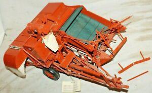 HUGE RARE~ALLIS-CHALMERS 60A ALL-CROP HARVESTER COMBINE Franklin Mint 1/12 Model
