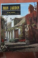MON JARDIN ET MA MAISON N°43 1961 ARBRES A FRUITS ORNEMENTAUX MYRTILLES CITRUS