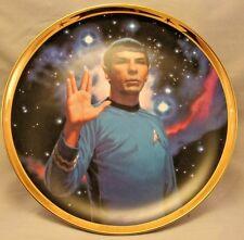 Hamilton Star Trek 25th Anniversary Spock Collector Plate No Coa