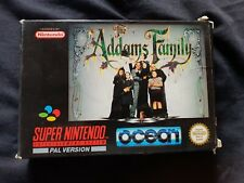 THE ADDAMS FAMILY Super Nintendo SNES Game