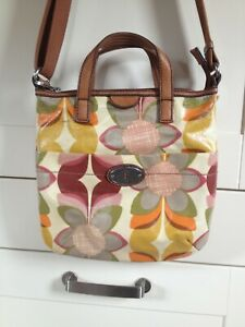 Fossil Gorgeous Summer Flowery 'Key-Per' Messenger Bag