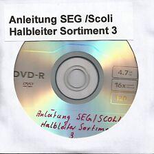 """12 267 SEG / SCOLI """"Anleitung für Halbleiter,Sortiment 3 (auf Datenträger)"""""""