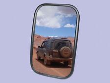 """SPECCHIETTO Laterale 10 """"X 6"""" Plain-LAND ROVER, trattori e auto classico-re0064"""