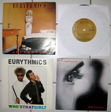 "EURYTHMICS - 4 x 7"" VINYL RECORDS - FOUR RECORD DEAL - 1980's"