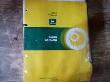 John Deere 4630 Tractor Parts Catalog Manual Book Original Pc-1296