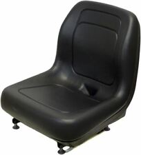 Gehl Black Skid Steer Bucket Seat Fits 2500 2600 3000 4640 4840 5640 6635 etc