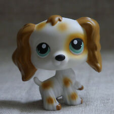 "LPS #1615 Action Figure gift  Blue Eyes Cocker DOG TOY 2"" LITTLEST PET SHOP"
