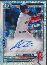 2021 Bowman Chrome Mega Box Prospect Autograph #BJ Blaze Jordan Auto