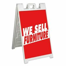 We Sell Furniture Signicade 24x36 Aframe Sidewalk Sign Banner Decal Furnishings