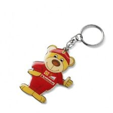 KEYRING Scuderia Ferrari Teddy Bear kids Formula One F1 Team NEW TeddyBear Gift