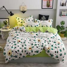 3D Obst Avocado NAM93617 Bett Kissenbezüge Decke Bettdecke Abdeckung Set Fay