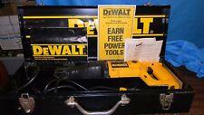 DEWALT RECIPROCATING CORDED SAW DW304 6 AMP  120v AC WITH METAL CASE & MANUAL