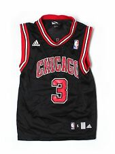 Boy Youth Chicago Bulls Ben Wallace #3 Basketball Jersey Size 8 S