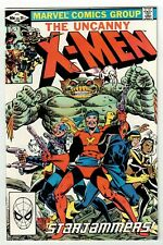 UNCANNY X-MEN #156 (VF/NM) Starjammers Cover Story Appearance! 1982 Marvel Brood