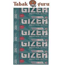 5x Gizeh Menthol Extra Filterhülsen