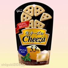 Glico CHEEZA Camembert Cheese 53% 1.4 oz Cheesy Crackers Japanese Snack New