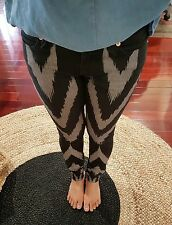 Sass & Bide Playman Black Beige Skinny Jeans - size 25