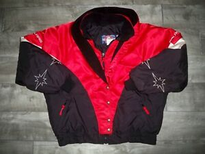 Vintage Polaris Snowmobile Sled Insulated Racing Women's Jacket Coat Size Xlarge