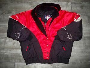 Vintage Polaris Snowmobile Sled Insulated Racing Women's Jacket Coat Size Xlarge