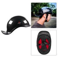 Motorcycle Half Helmet Biker Skull Cap ABS Shell Motocross Helmet Biker Helmets