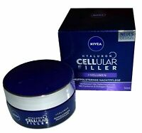 (2,7€/10ml) NIVEA Anti-Age Nachtpflege, Tiegel, Hyaluron CELLular Filler, 50ml