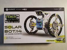 Elenco Ttg 615 Biy Teach Tech Solar 14 In 1 Educational Solar Powered Robot Kit