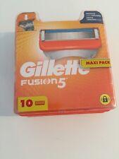 Gilette Fusion - Maxi Pack 10 Lames