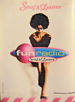 PUBLICITÉ DE PRESSE 2005 FUN RADIO SOUL & DANCE