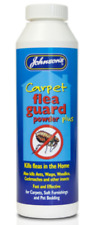 Johnsons Carpet Flea Guard Powder 300g Kills Fleas, Ants, Wasps other insect
