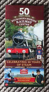 Buckinghamshire Railway Centre : Celebrating 50 Years Of Steam Flyer - Thomas