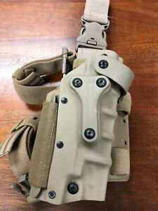 Safariland 3085 Military Tactical Holster with Detachable Harness Flat Dark