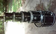 UPDATED VERY NICE!!! Black Pearl Export 5 Piece Set w/ Accessories & Hardware